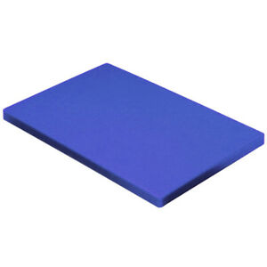 "Blue Plastic (HDPE) Cutting Board 1/2"" - .500"" Thick FDA/NSF You Pick The Size"
