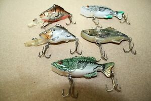 5 Lot Manns Leroy Brown Piglet Fishing Lures  FREE Shipping CB8