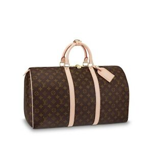 Louis Vuitton Keepall  Bandouliere 50 Travel Bag