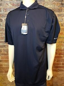 NWT Under Armour Nike Golf Fit Dry SS Polo Shirt Navy Blue Mens 3XL