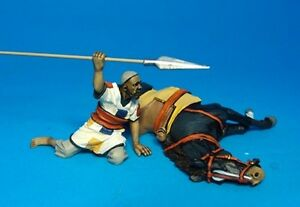John Jenkins Designs Soldiers MADCAV-02 Baqqara Lancer And Wounded Horse 1/30