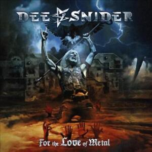 DEE SNIDER SINGER FOR THE LOVE OF METAL * NEW CD $19.28