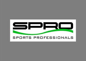 SPRO lures decals stickers bass boat tournament sponsor fishing rod reel