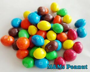 M&Ms PEANUT MILK CHOCOLATE BULK  CHOOSE QTY 1/2 lb - 10 lb MMS PEANUTS CANDY