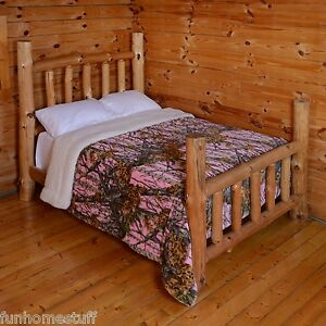 PINK CAMO CAMOUFLAGE The Woods Super Soft Luxury Queen Sherpa Blanket 79quot; x 96quot;