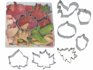 R & M International Corp. 7 Piece Autumn Cookie Cutter Set