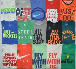 Boy's Youth Nike Dri-Fit Dry The Nike Tee Athletic Cut T-Shirt