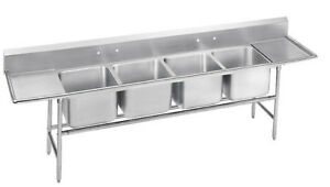 Advance Tabco 900 Series Free Standing Service Sink