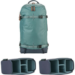 Shimoda Designs Explore 40 Backpack Starter Kit w 2 Small Core Units - Sea Pine