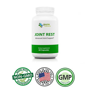PureNature Joint Rest support with Turmeric and Glucosamine Joint Rest  60 caps