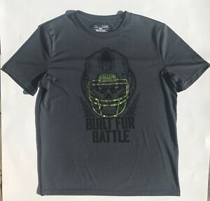 Under Armour Boys *Built For Battle* Football T-Shirt Size Youth Large