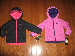 Under Armour® Werewolf Puffer Winter Hoodie  Coat GIRLS SIZE 2T3T4TYMD  NWT