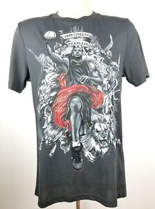 NIKE Men LeBron James Fate Loves The Fearless Basketball Dri Fit T Shirt Small $1,295.00