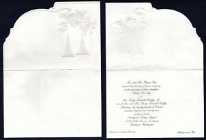 Ken Griffey Jr. Wedding Invitation Complete & Super Rare Perhaps one of a kind?