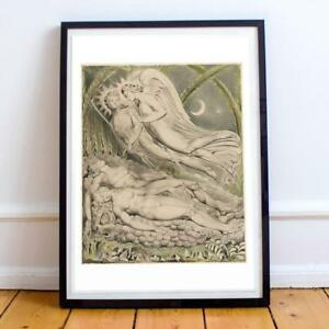 WILLIAM BLAKE ENGLISH ROMANTICIST 13 22X28 INCHES ART PRINT P P