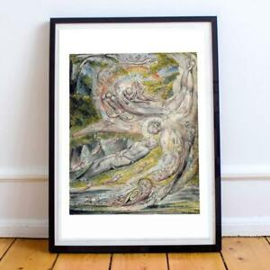 WILLIAM BLAKE ENGLISH ROMANTICIST 18 22X28 INCHES ART PRINT P P