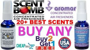 BUY 2 GET 1 FREE Scent Bomb 100% Concentrated Air Freshener 1oz Car
