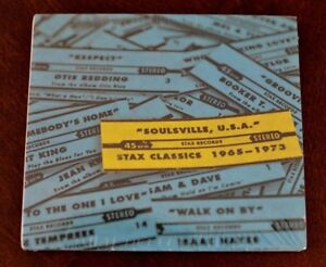 Soulville USA: Stax Classics by Various Artists (CD, Feb-2008, Hear Music) NEW