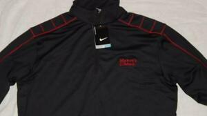 Men's Nike MAKERS MARK Golf Shirt KENTUCKY BOURBON WISKEY Blackred Dry-Fit New