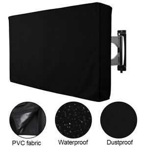 Outdoor TV Cover Fitted Waterproof Weatherproof Television Protector 30
