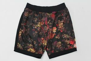 Nike Mens SB Dri-Fit Floral Printed Black Shorts AA4492 010 Size Large