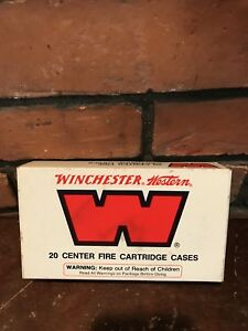 Vintage Winchester-Western EMPTY Ammo Box  4570 Government