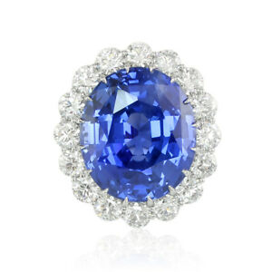 World Class Blue Sapphire Ring 69cts Untreated