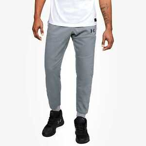 MEN UNDER ARMOUR COLDGEAR PURSUIT STEALTH JOGGER CUFFED SWEAT PANT GRAY XL NWT