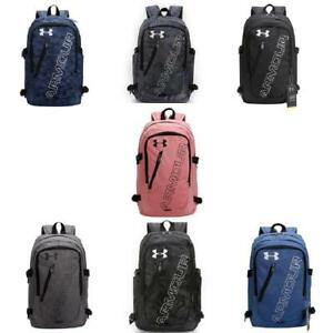 Women's Men's Under Armour Cotton backpack students bag Leisure package