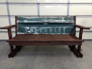 CHEVROLET TAILGATE PATIO BENCH