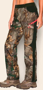 UNDER ARMOUR Speed Freak Storm1 Infrared Scent Camo Hunt Pants Womens 6 8 10 12