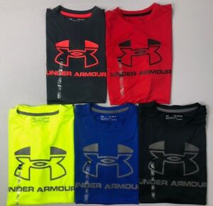 Boys Youth Under Armour Heatgear Loose Fit Sleeveless Polyester Shirt $16.99