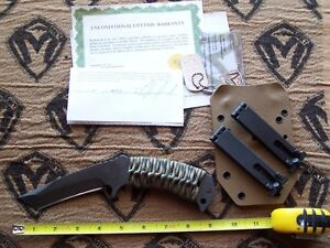 Medford Knife & Tool TST-2 Knife USA Tactical Service Tanto Discontinued
