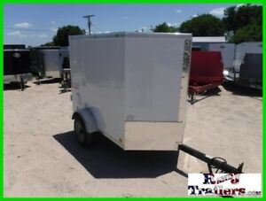 4 x 6 6ft Small Camping Luggage Tool Service Handy Enclosed Cargo Trailer DFW