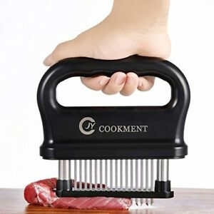 Meat Tenderizer with 48 Stainless Steel Ultra Sharp Needle Blades, Kitchen Cooki