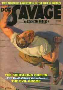 DOC SAVAGE #12: The Squeaking Goblin / The Evil Gnome (2007 pulp reprint), NM