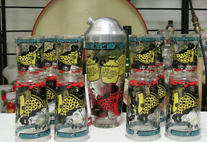 Hillbilly 14 Piece It's A Dilly Cocktail Shaker Set By Gailstyn NOS