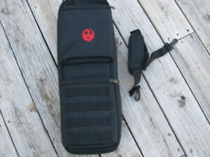 Ruger 1022 Takedown Bag soft black case with sholder strap magazine storage