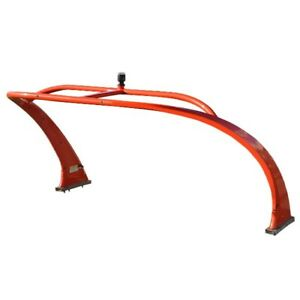 Boat Tower Assembly FW0H210TAR0  Four Winns 94 x 65 x 50 Inch Red Aluminum