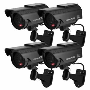 TOROTON 1 Camera Simulated Whirling of Surveillance Energy Solar Security Home