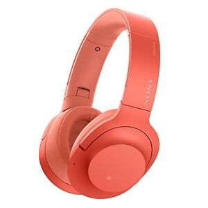 SONY WH-H900N h.ear on 2 Wireless NC Noise Canceling Headphones Twilight Red