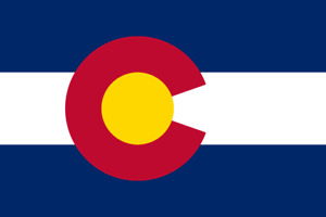 3x5 Colorado Flag 3#x27;x5#x27; House Banner grommets super polyester