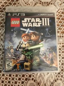 LEGO STAR WARS III: THE CLONE WARS  BLACK LABEL PLAYSTATION 3 PS3 FACTORY SEALED
