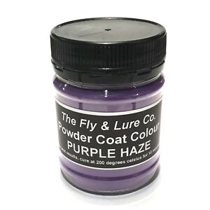 Powder Coat Paint Purple Haze For Spinnerbaits Jig Heads Fishing Lures