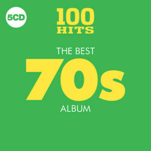 Various Artists 100 Hits: Best 70S Album Various New CD Boxed Se $9.94