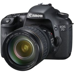 Canon EOS 7D Full Kit - Ready to Shoot (Mint Condition)