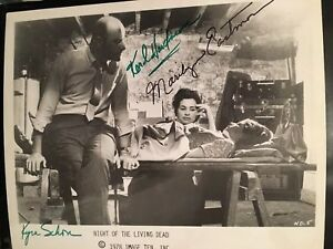10 Night Of The Living Dead 8x10 Autograph Signature Signed Photos Horror Movie