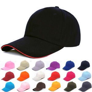 Men Women New Black Baseball Cap Snapback Hat Hip-Hop Adjustable Bboy Caps CHZ