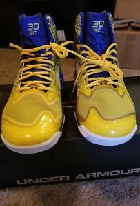 DS Under Armour Antomix Spawn 2 The Zone RARE Size 12 Steph Curry Warriors Rare