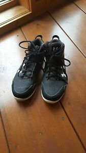 Women's Under Armour Basketball Shoes High Tops Size 9